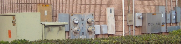 Electrical Panels on Building